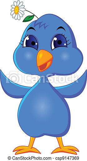 面白い, bluebird - csp9147369