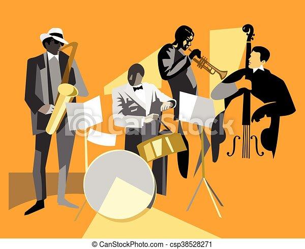 音楽家, ジャズ - csp38528271