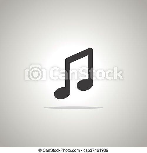 音楽, アイコン - csp37461989