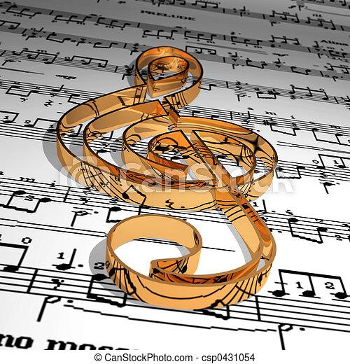 音楽 - csp0431054