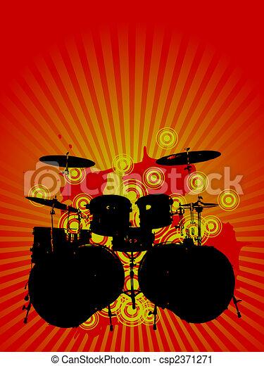 音楽, デザイン - csp2371271