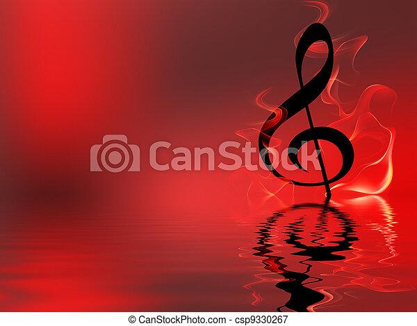 音楽 - csp9330267