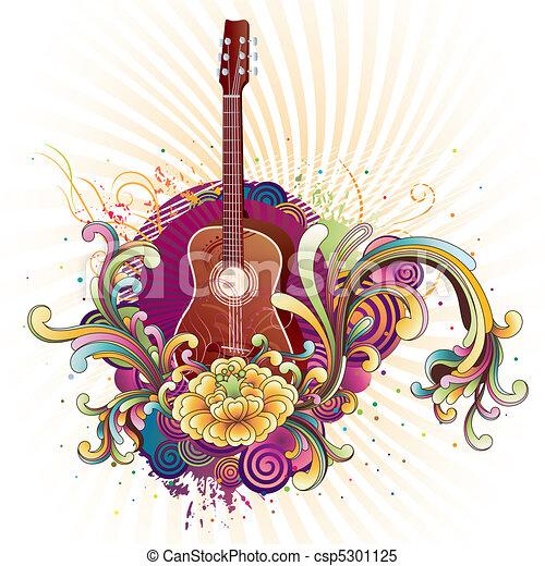 音楽, 背景 - csp5301125