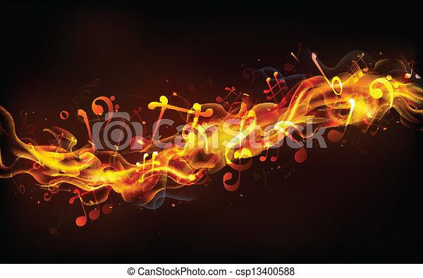 音楽, fiery - csp13400588