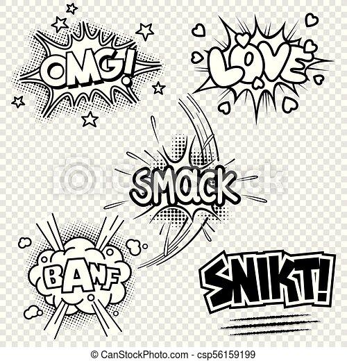音 イラスト 漫画 ベクトル 効果 音 セット ベクトル 5 効果