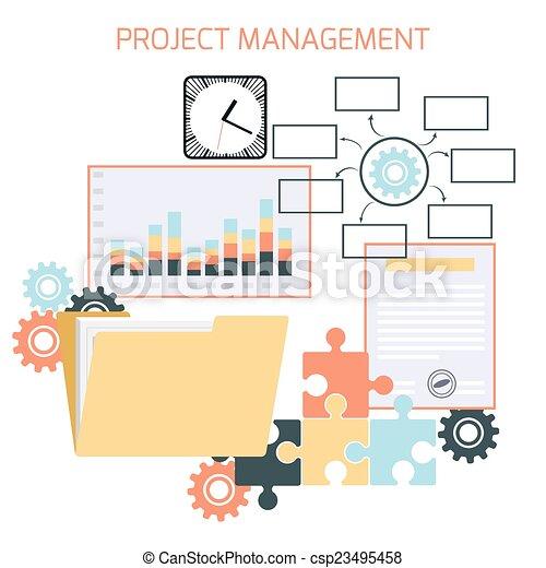 項目, 套間, 管理, 設計 - csp23495458