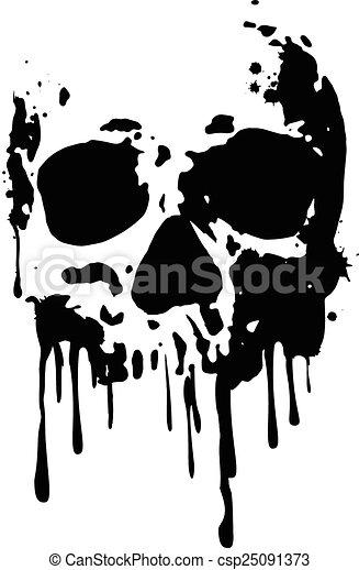頭骨, blood2 - csp25091373
