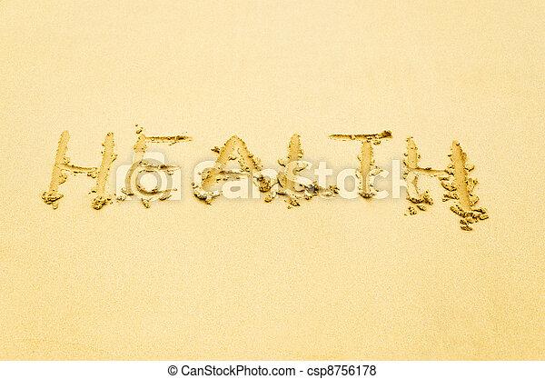 題字, 沙子 - csp8756178