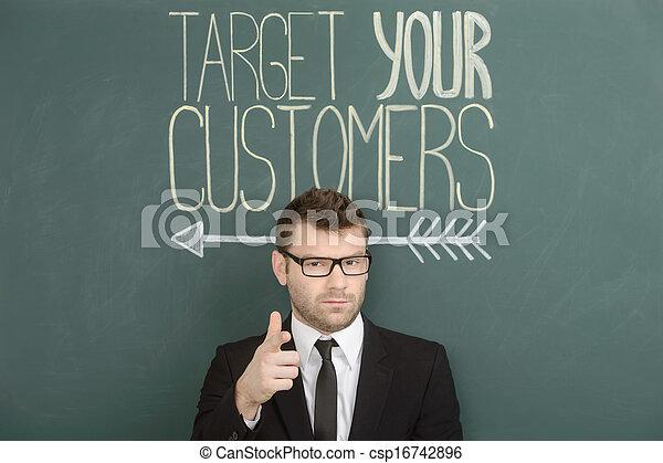 顧客, ターゲット, あなたの - csp16742896
