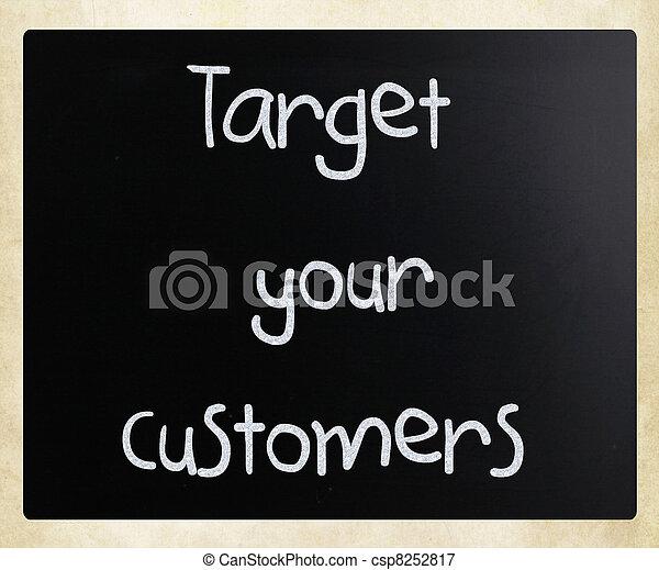 顧客, ターゲット, あなたの - csp8252817