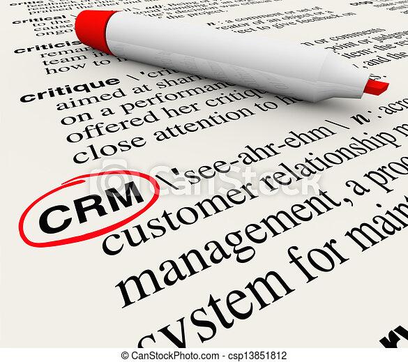 顧客, 定義, 管理, 関係, 辞書, crm - csp13851812