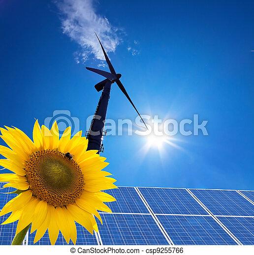風エネルギー, windra, 選択肢, 力 - csp9255766