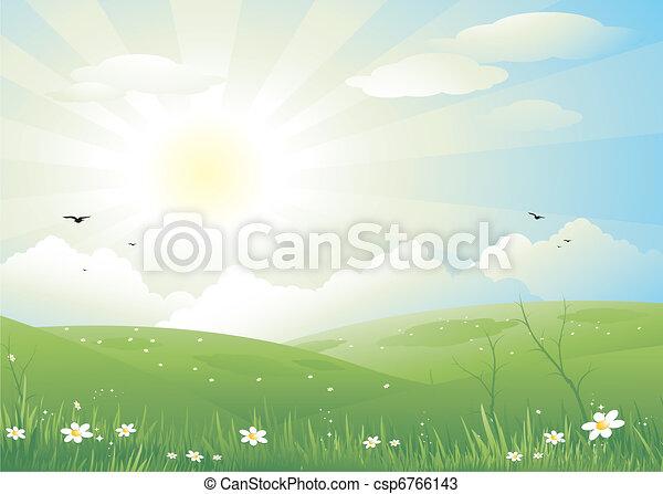 風景, 自然 - csp6766143