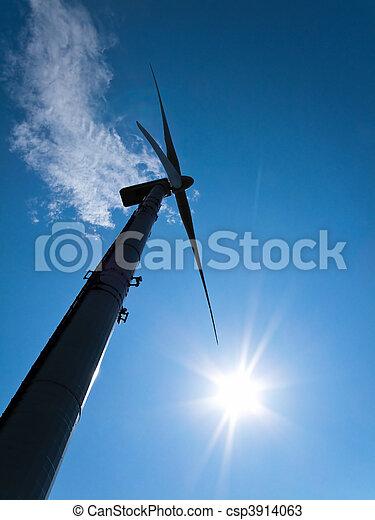 風車, 力, エネルギー, によって, 選択肢, 風 - csp3914063