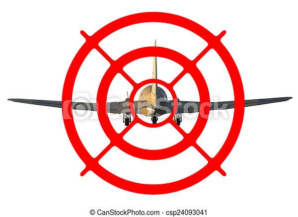 飛行機, ターゲット - csp24093041