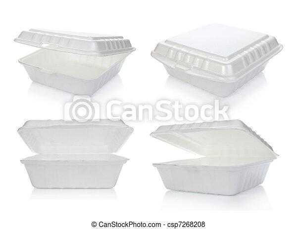 食物容器, styrofoam - csp7268208