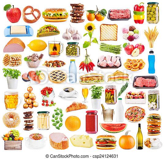 食物, 彙整 - csp24124631