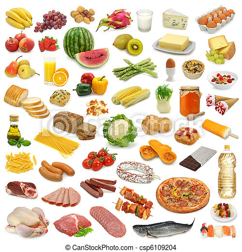 食物, 彙整 - csp6109204