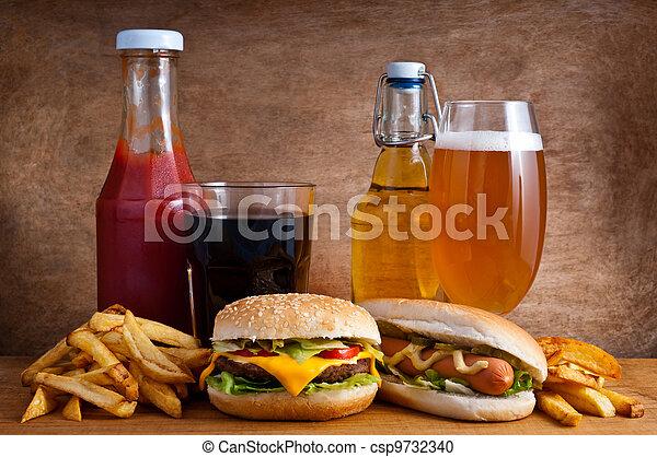 食物, 舢板 - csp9732340