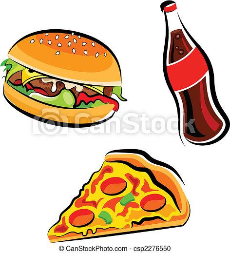 食物, 速い - csp2276550