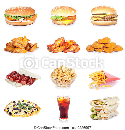 食物, 集合, 快 - csp9226997
