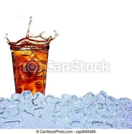 飲みなさい, コーラ - csp9065486