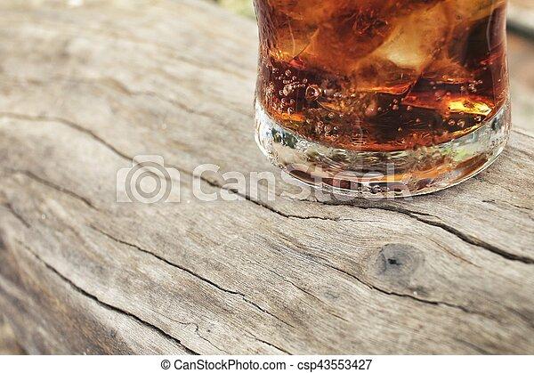 飲みなさい, 氷 立方体 - csp43553427