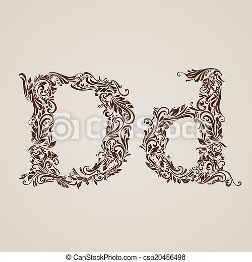 飾られる, d, 手紙 - csp20456498