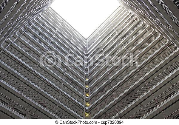 香港, ハウジング, パックされた, 公衆 - csp7820894