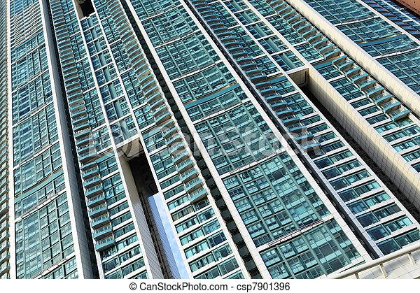 香港, ハウジング, 公衆 - csp7901396