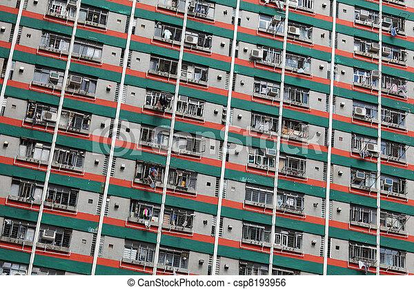 香港, ハウジング, 公衆 - csp8193956