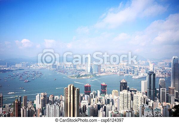香港 - csp6124397