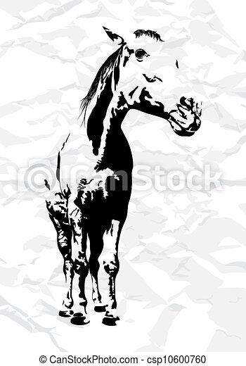 馬, ベクトル - csp10600760
