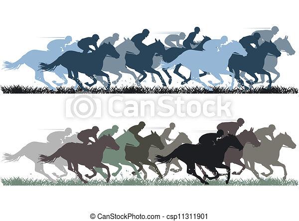 馬 競争 - csp11311901
