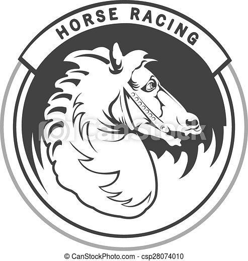 馬 競争 - csp28074010
