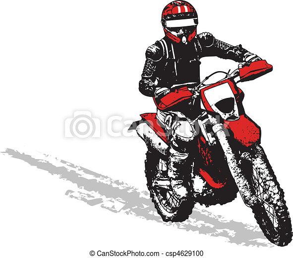 騎自行車的人 - csp4629100