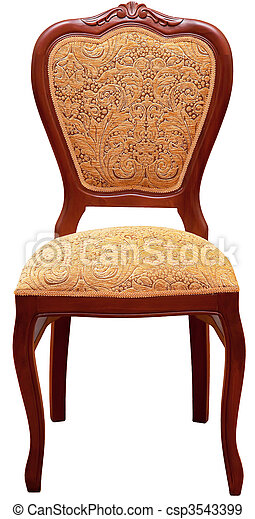 骨董品, 椅子 - csp3543399