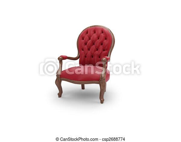 骨董品, 皇族, 家具 - csp2688774