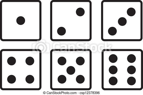 骰子 - csp12378396