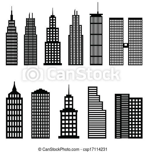 高い, 建物, 超高層ビル - csp17114231