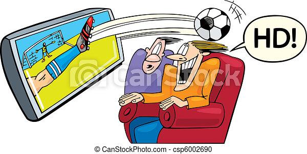 高く, 定義, テレビ, スポーツ - csp6002690