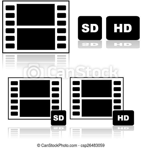 高く, 定義, 基準, 映画 - csp26483059