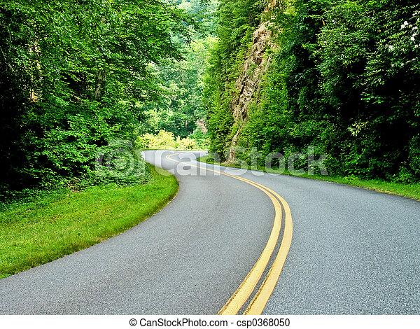 高速公路, 陽光 - csp0368050