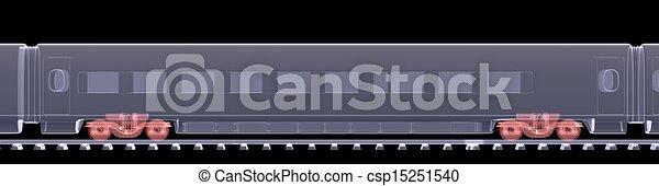 高速, 新しい, 列車 - csp15251540