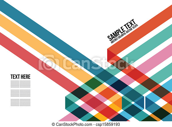 鮮艷, 三角形, 覆蓋, 等等, 小冊子, 背景, 網站, 摘要, namecard, 海報, 布局, pattern., 雜志 - csp15859193