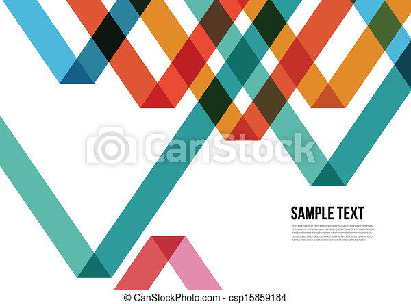 鮮艷, 三角形, 覆蓋, 等等, 小冊子, 背景, 網站, 摘要, namecard, 海報, 布局, pattern., 雜志 - csp15859184