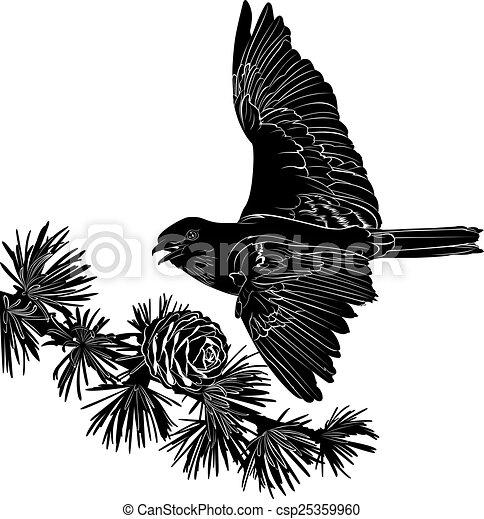 鳥 - csp25359960