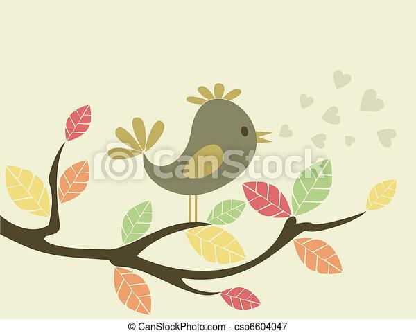 鳥, tree3 - csp6604047