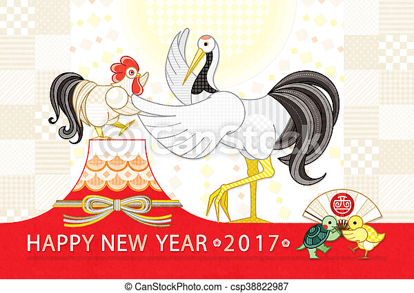 鶏, クレーン, 2017, ダンス - csp38822987