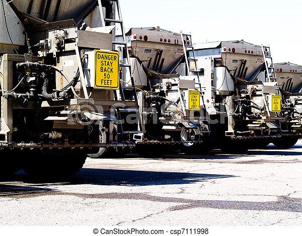 鹽, 卡車 - csp7111998